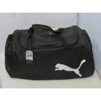 Сумка Puma (реплика) 84028 черно-белая