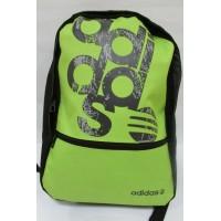 Рюкзак Adidas (0271) салатовый с черным