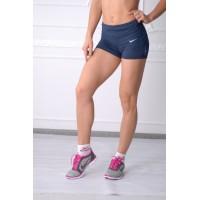 Женские шорты Nike 234790-2 синие