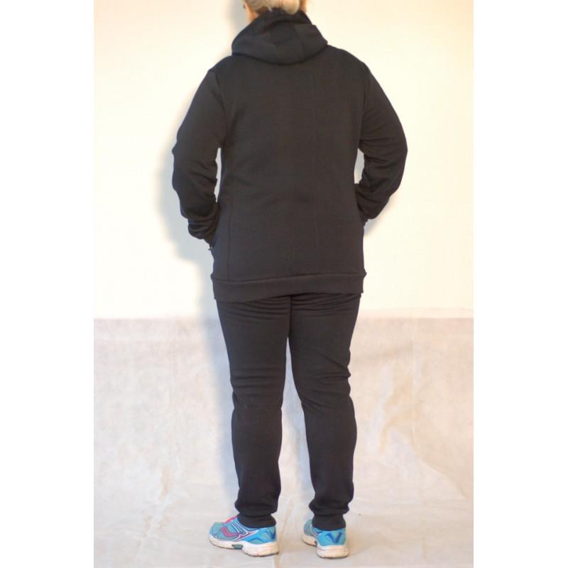 f72216ec Женский тёплый спортивный костюм Nike 77088 темно синий